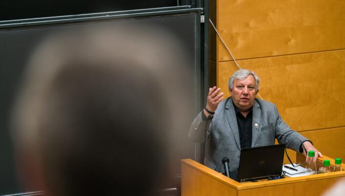 Professor Matthias Kaiser er prosjektleder for RINO. Foto: David Engmo