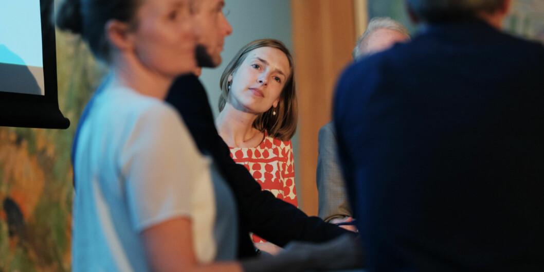 Statsråd Iselin Nybø har mandatet for mulighetsstudien av høyere utdanning klar. Ett ord mangler: Foretak. Foto: Ketil Blom Haugstulen