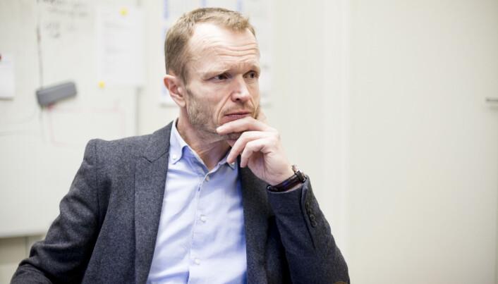 Professor Kristian Steinnes er for tiden sykemeldt. Foto: Wanda Nathalie Nordstrøm