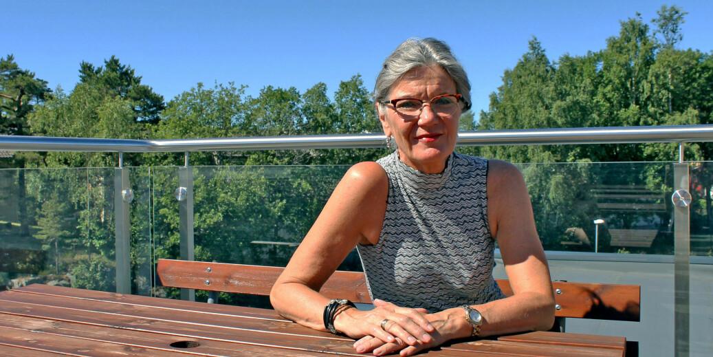 Sexolog Elsa Almås tror at universitets- og høgskolesektoren kan håndtere seksuell folkeskikk og være et eksempel for andre organisasjoner. Foto: Camilla Klungland Ousdal