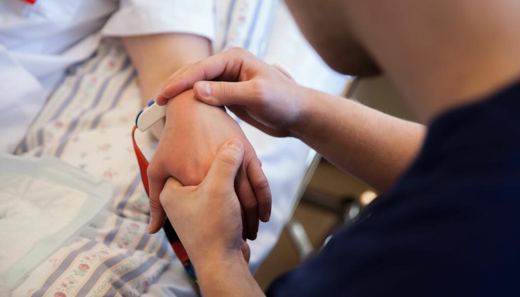 Regjeringen vil ha nye pilotposjekter for praksis for sykepleiestudenter. Foto: Mina Ræge