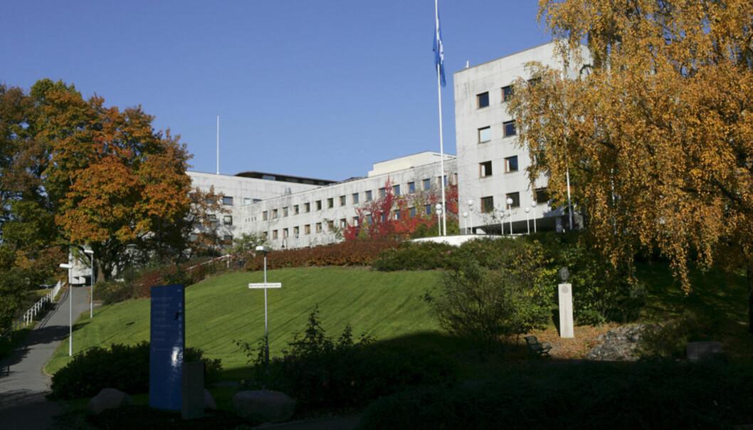 Usikkert kva som vil skje med Marienlyst når/viss NRK flyttar ut. Universitetet i Oslo vil at det skal bli eit dedikret campusområde. Foto: Anne Liv Ekroll