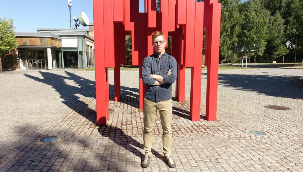 Dellsén ville jobbe i Norden og synes Lillehammer er et bra sted. Foto: Sigrun Dancke Skaare