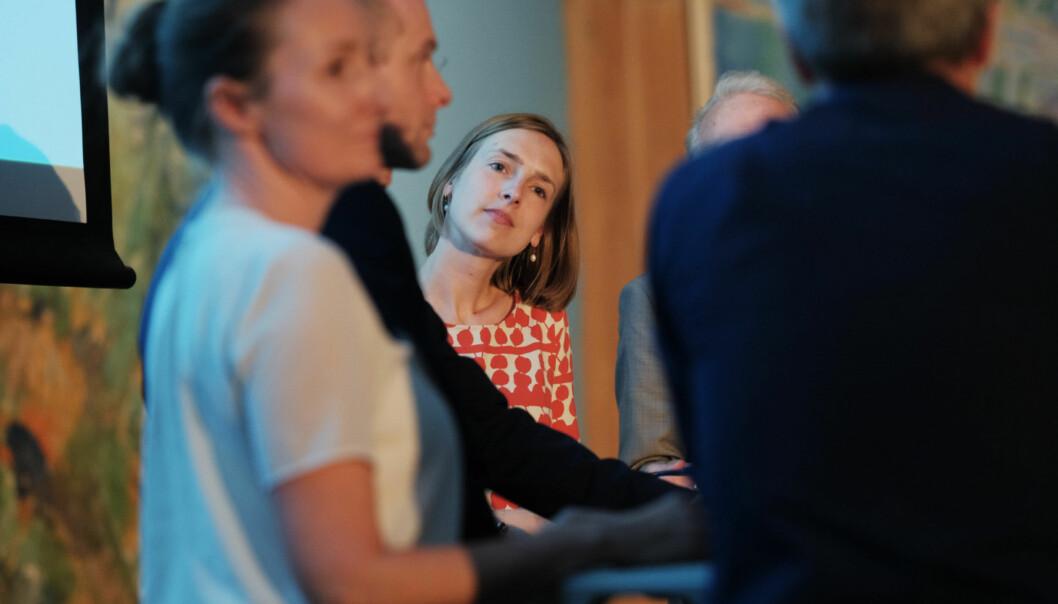 Iselin Nybø understreker at hun også er opptatt av at det er viktig med kjønnsbalanse i alle yrkesgrupper. Foto: Ketil Blom Haugstulen