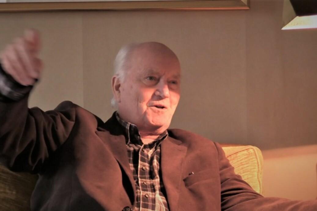 Fra NSOs intervju med Thorvald Stoltenberg 12. oktober 2016. Foto: NSO