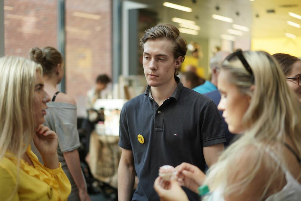 Skal studere sykepleie: Thomas Glendrange Ellingsen. Foto: Ketil Blom Haugstulen
