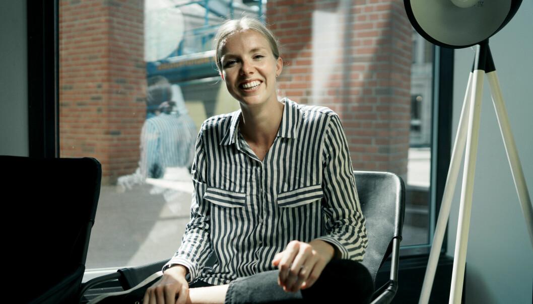 Leder for Studentparlamentet på UiO, Susann Andora Biseth-Michelsen. Foto: Ketil Blom Haugstulen
