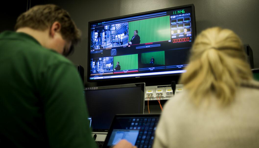 OsloMets journaliststudium har vært blant landets mest populære studier. I år har studiet 260 førstevalgssøkere, mot 635 i 2009. Ill.Foto: OsloMet / Benjamin Ward