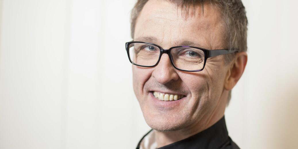 Redaktør i Universitetsavsa Tore Oksholen var med den norske delegasjonen til Kina i april. Reiseregningen hans ble høy. Foto: Kristoffer Furberg