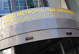 Professorer krever stans i skiltingen: Er OsloMet et amerikansk universitet i Oslo?