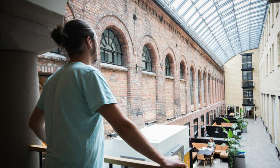 Parlamentsleder ved OsloMet Bjørn Harald Hegreberg Garborg er kritisk til den foreslåtte endringen i stipendordningen. Foto: Runhild Heggem