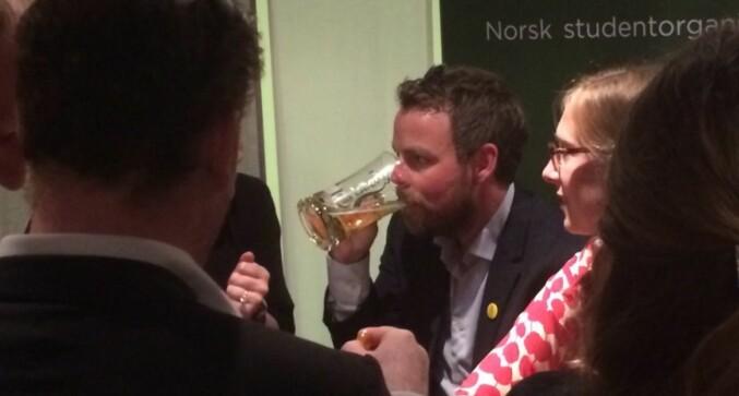 Daværende kunnskapsminister Torbjørn Røe Isaksen og nåværende minister for forskning og høyere utdanning, Iselin Nybø, under Arendalsuka 2015. Foto: Tove Lie