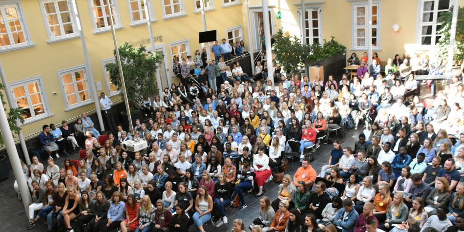 Studentleder Daniel Hansen Masvik ved UiT reagerer på uttalelser fra FpU-formann Bjørn-Kristian Svendsrud. Illustrasjonsfoto: VID