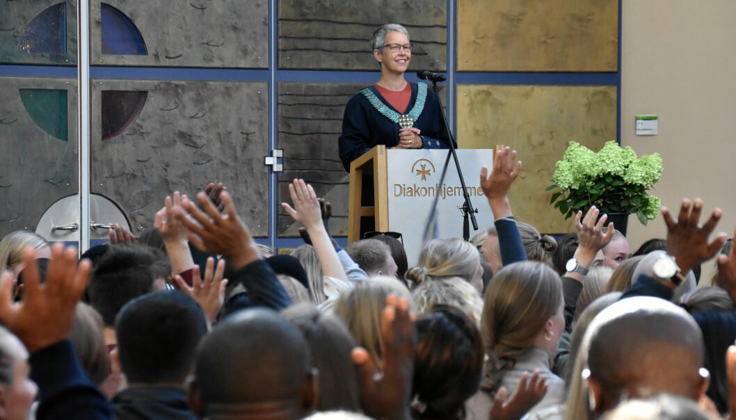 Rektor på VID, Ingunn Moser, skrev årets femte mest leste innlegg på Khrono. Foto: VID
