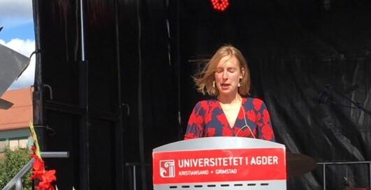 Statsråd Iselin Nybø.