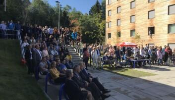 Campus Ringerike, studiestart 2018. Foto: Jan-Henrik Kulberg, USN