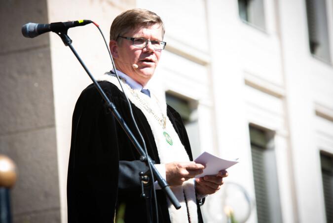UiO-rektor Svein Stølen. Foto: Runhild Heggem