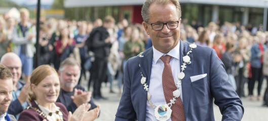 Nord-rektor Olsen går på dagen