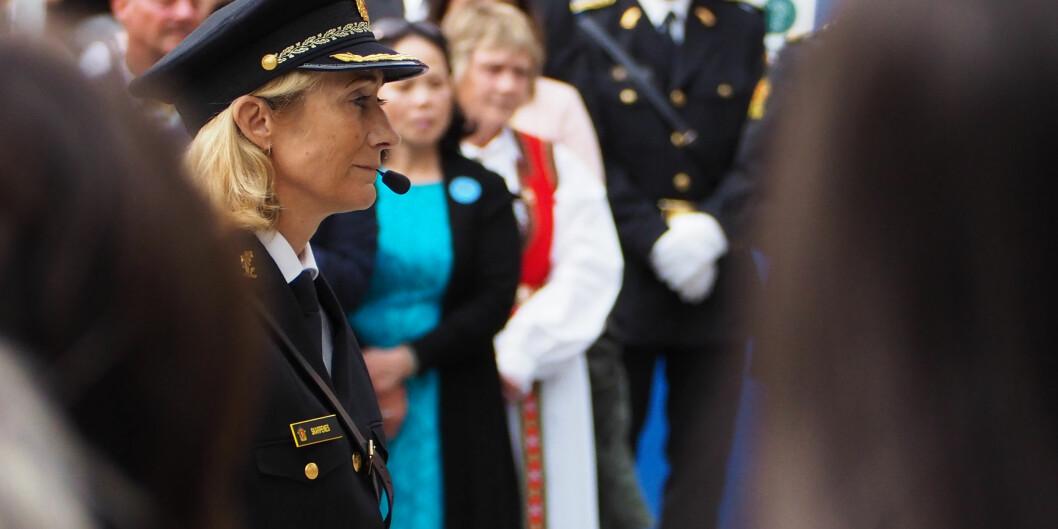 Rektor Nina Skarpenes ved Politihøgskolen mener en eventuell ny politihøgskole bør bygges i Oslo, men møter motbør fra blant annet Martin Danielsen i studentstyret til Politiets Fellesforbund. Foto: Politihøgskolen