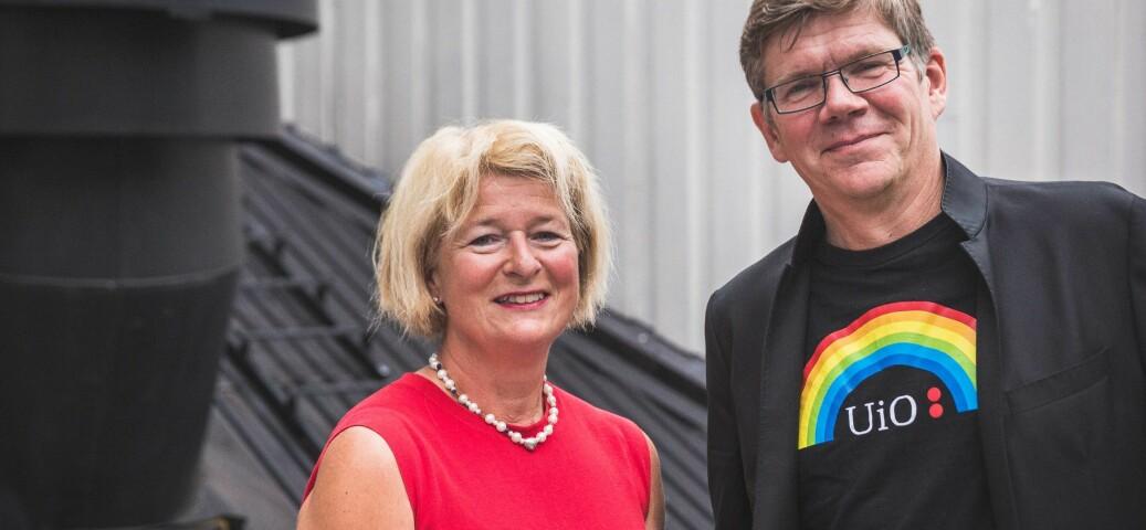 Svein Stølen støtter UiT-rektor Anne Husebekks prinsipielle rett til å støtte en utvist student, også økonomisk. Foto: Siri Øverland Eriksen