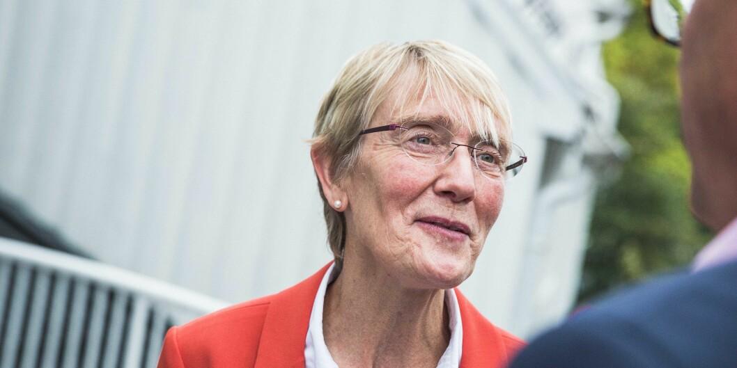 Anne Borg trakk det lengste strået i kampen om rektorjobben på NTNU etter Gunnar Bovim. Foto: Siri Øverland Eriksen