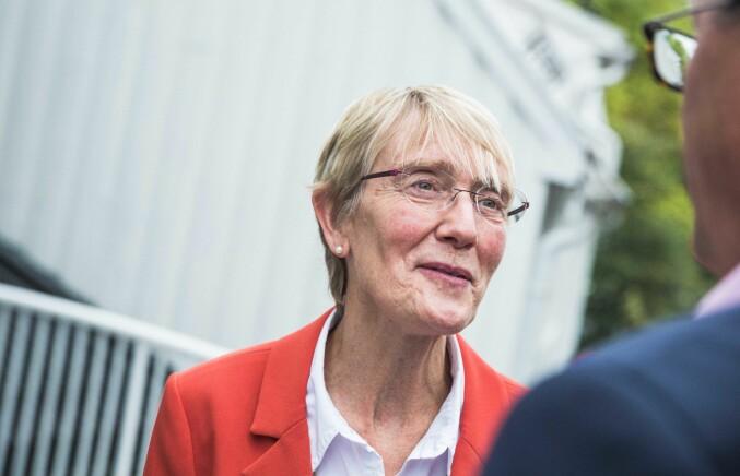 Anne Borg, prorektor NTNU, mener at det ikke er ok at forelesere snur bunken. Foto: Siri Ø. Eriksen