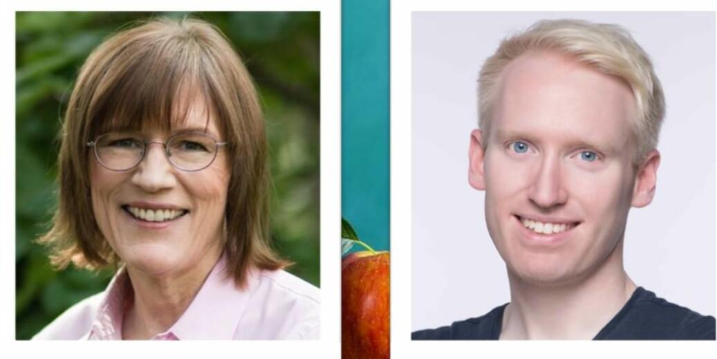 Barbara Oakley og Olav Schewe lover å lære bort studieteknikk 4. september. Foto: Universitetsforlaget