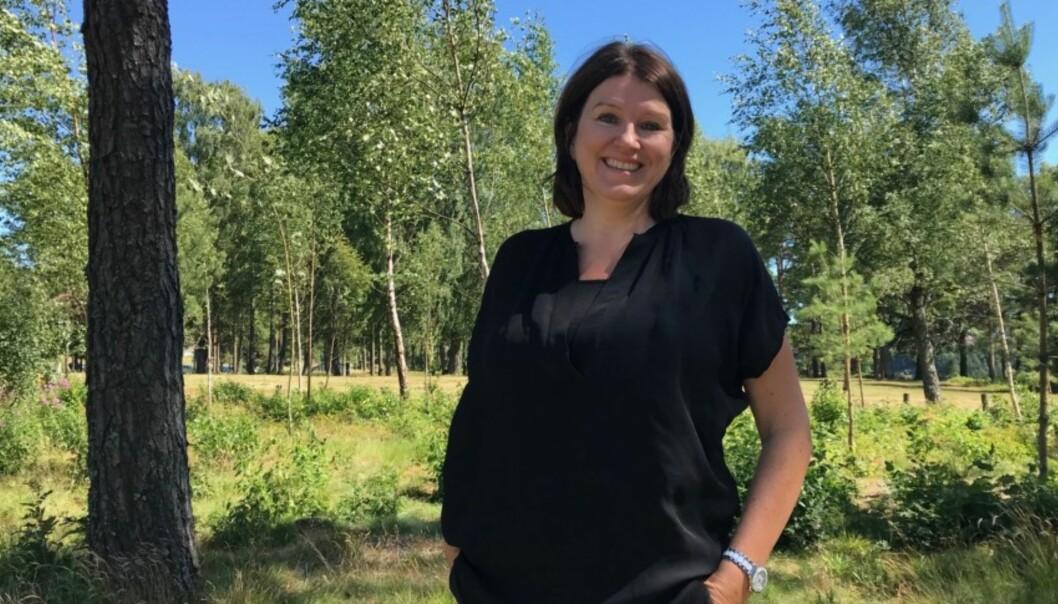 Det er en trend å stemme grønt, mener leder i akademikerne, Kari Sollien. Foto: Akademikerne