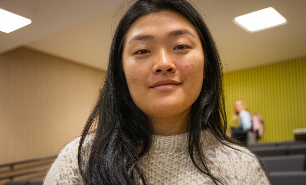 ANSA-president Hanna Flood, mener studentsvarene om utveksling avslører at iutdanninginstitusjonene gir for dårlig informasjon til studentene sine. Foto: Runhild Heggem