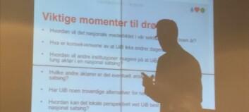 Universitetet i Bergen går for eierskap i to aviser samtidig