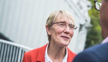 Prorektor Anne Borg ved NTNU er klar for å søke om å få huse Kunnskapssenteret. Foto: Siri Ø. Eriksen