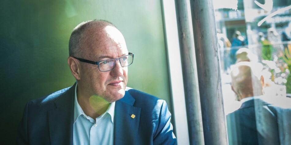 NTNU-rektor Gunnar Bovim har hatt et lønnshopp på 175.000 kroner på tre år. Foto: Siri Øverland Eriksen