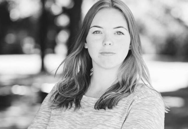 Fam Karine Heer Aas, som er velferds‐ og likestillingsansvarlig i Norsk studentorganisasjon. Foto: Øyvind Ganesh