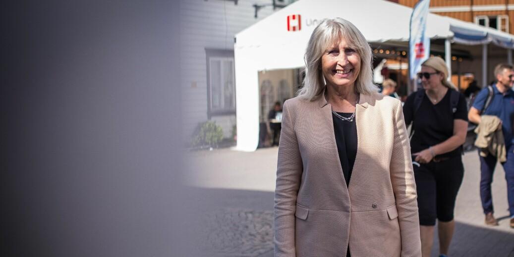 I desember skal det avgjøres hvem som skal etterfølge Marit Boyesen som rektor i Stavanger. Seks interne kandidater. Foto: Siri Ø. Eriksen