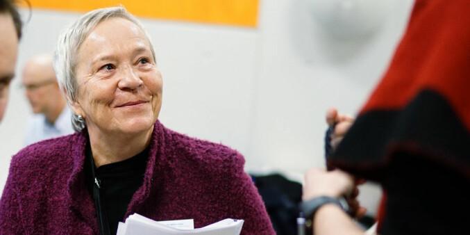 Rektor ved Høgskolen i Innlandet, Kathrine Skretting. Foto: Ketil Blom Haugstulen