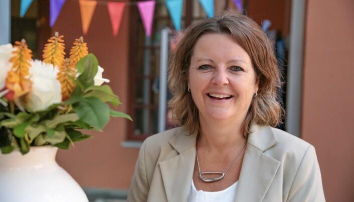 Rektor Annelise Kiønig, Fagskolen Kristiania.