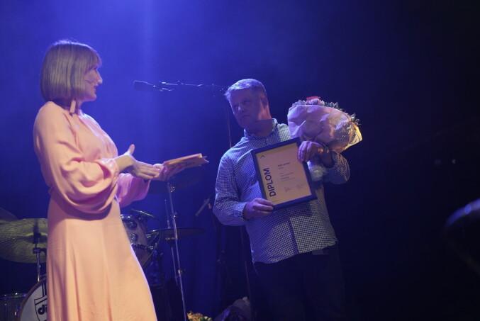 Årets FoU-pris-vinner på OsloMet: Karl Joachim Breunig.