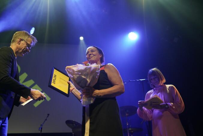 Arbeidsmiljøpris til Anneke von Der Fehr.