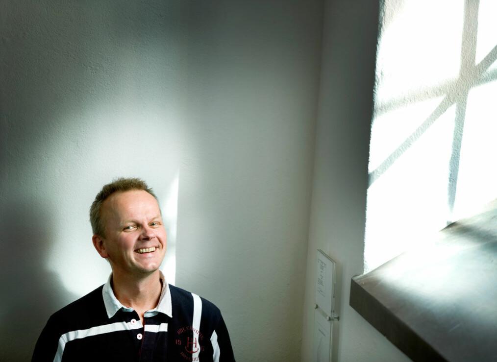 Professor Jan Gulliksen ved KTH søker rektorjobben ved OsloMet. Foto: Kristina Sahlén