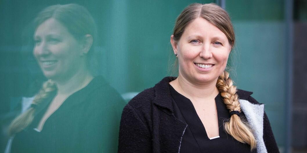 Guro Elisabeth Lind er som første kvinne innstilt til leder for Forskerforbundet. Foto: Siri Øverland Eriksen