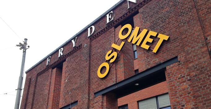 Oslo kommune godkjenner OsloMet-skiltingen i Pilestredet