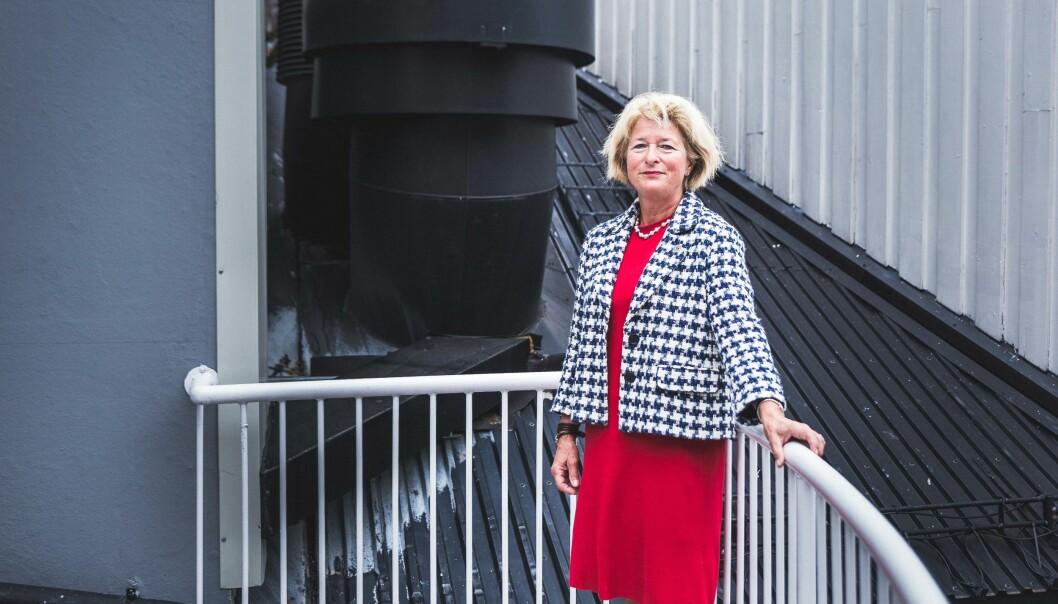 Rektor og styreleder Anne Husebekk ved UiT mener fakultetene bør ta større risiko for å få satt ubrukte midler i virksomhet. Foto: Siri Øverland Eriksen