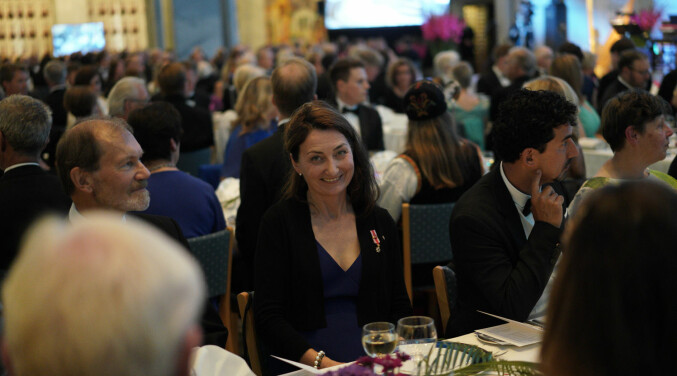 Nobelprisvinner May-Britt Moser klar for Kavlimiddag. Foto: Ketil Blom Haugstulen