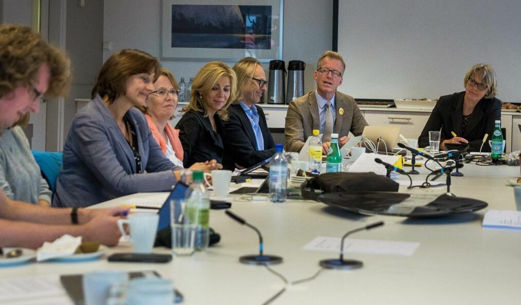 Styret diskuterte skiltsaken mpå møtet onsdag.