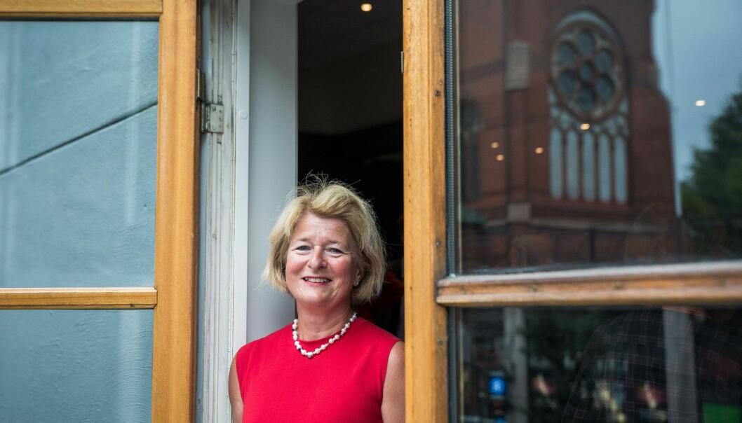 Rektor og styreleder Anne Husebekk ved UiT. Foto: Siri Øverland Eriksen