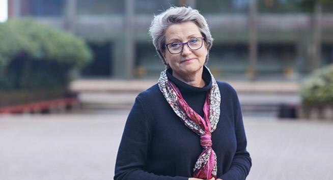 Generalsekretær Hilde Gunn Avløyp i Forskerforbundet.