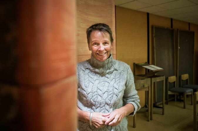 Studentprest Inger Anne Naterstad. Foto: Siri Øverland Eriksen