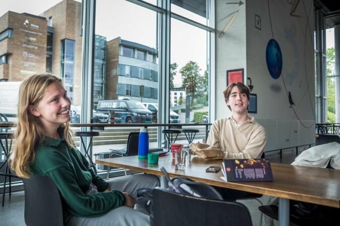 Christa Barlinn Korvald og Erik Frogner. Foto: Siri Øverland Eriksen