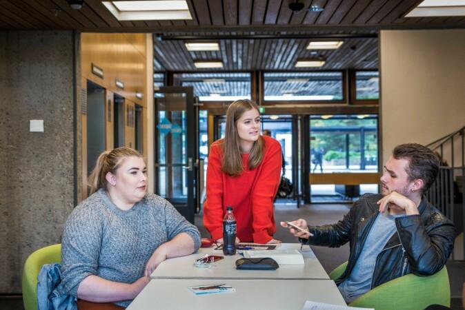 (F.v.) Sofie Aspli, Eileen Gurney, Audun Ryeng. Foto: Siri Øverland Eriksen