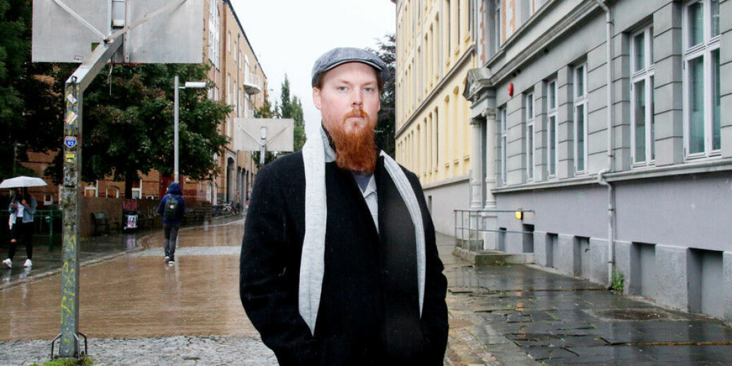 Kristian Eik er studenten som vil saksøke Universitetet i Bergen, bare han får samla inn nok penger. Foto: Njord Vegard Svendsen, På Høyden